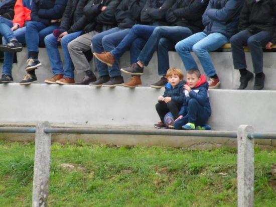 Les jeunes supporters