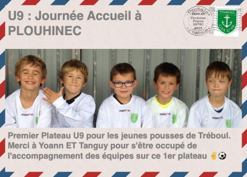 U9 journee d acceuil a plouhinec